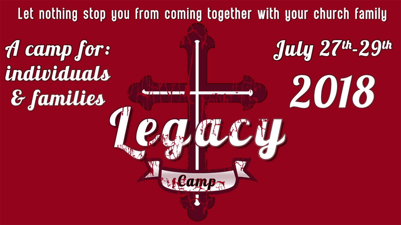 legacy camp 2018