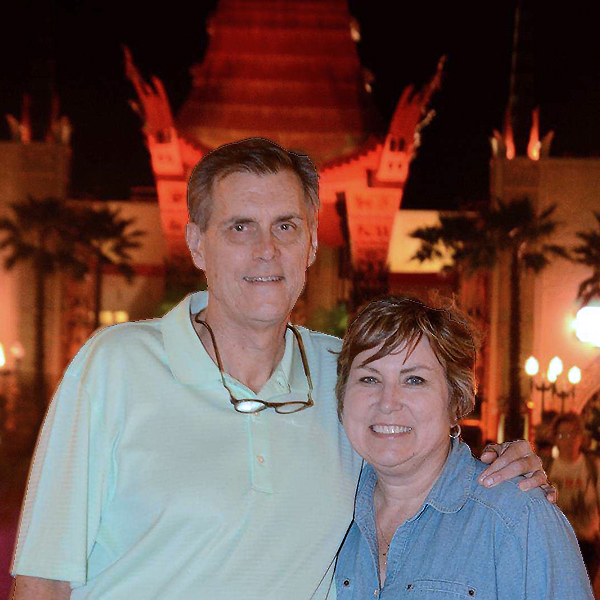 Brad and Pam Stephenson in Vietnam