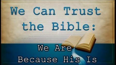 We Are Because He Is