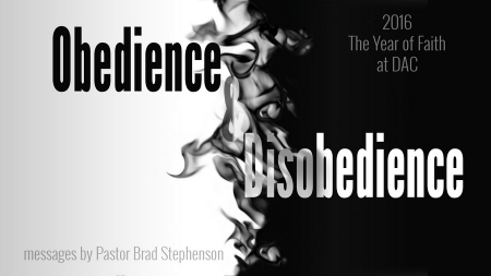 Obedience and Disobedience